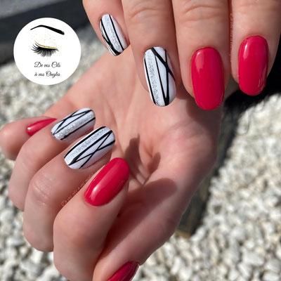 preparation des ongles et pose de vernis semi permanent mail art pose gel spider de vos cils a vos ongles lannemezan institut de beaute