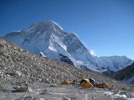 Am Makalu, Camp auf 5760 m