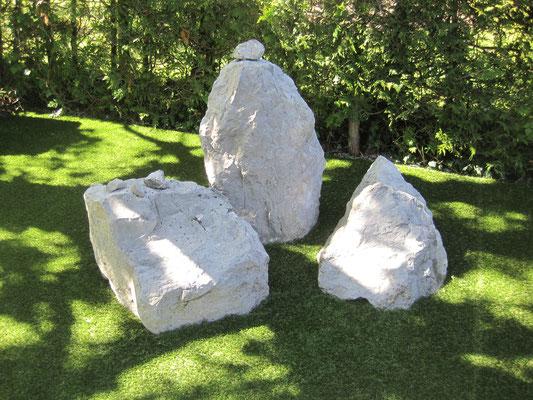 Ein Blickfang! Die Steine kommen nun sehr schön zur Geltung