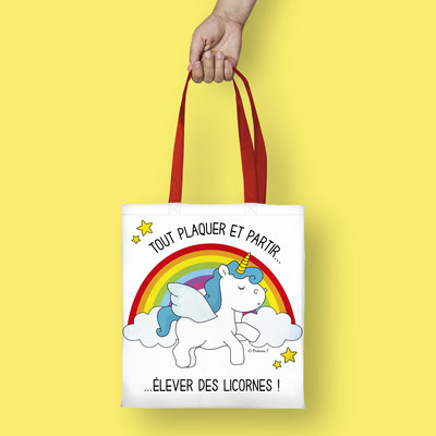 Tote bag illustrated by Barbara FORMOSA