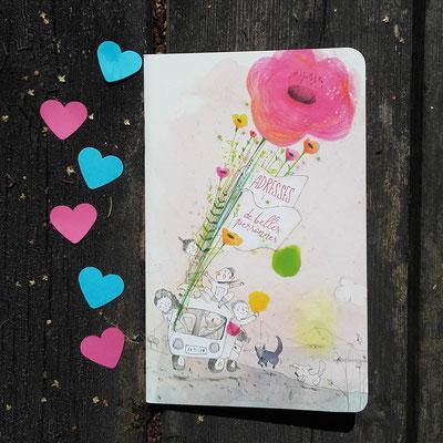 Carnet d'adresses de Francesca Quatraro - recto