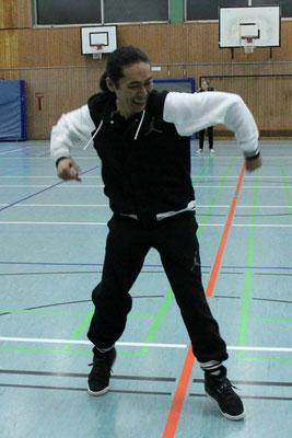Es geht um Spaß: Meister-Shu-Moves!