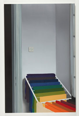 'Rainbow' 170x110cm, oil on canvas, 2010