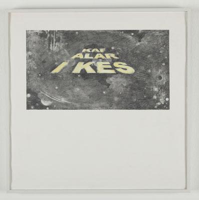 'Space Track III' (Kafaları Kes) 50x50cm, 2010