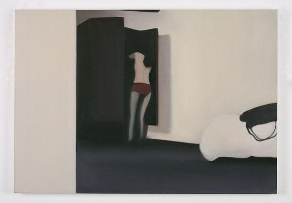'Boudoir I' 70x100cm oil on canvas, 2008