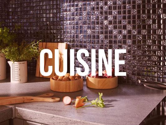 Pose carrelage cuisine Quimper