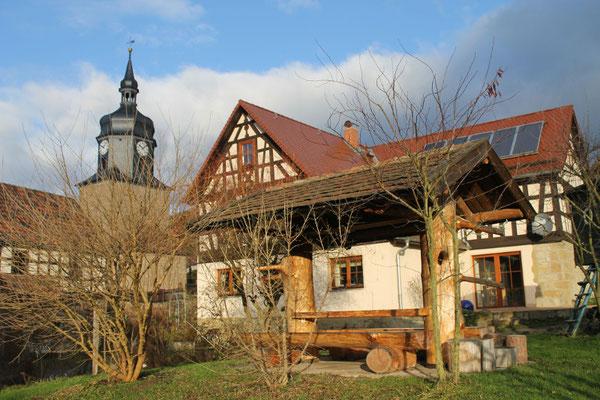 Rustikale Waldschenke