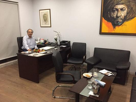 Ali Aga, Managing Director of Expandeers (Pakistan)
