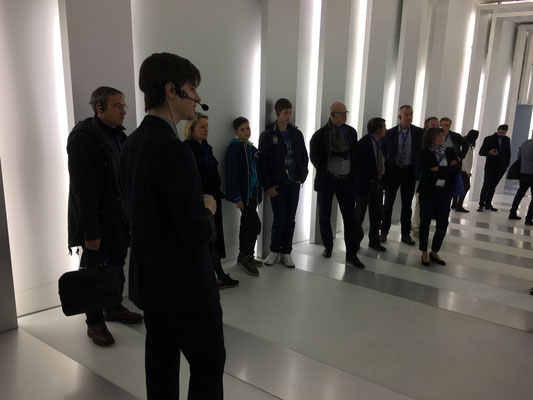 Private tour of Museum at Expandeers Global Partner Meeting 2017 Munich