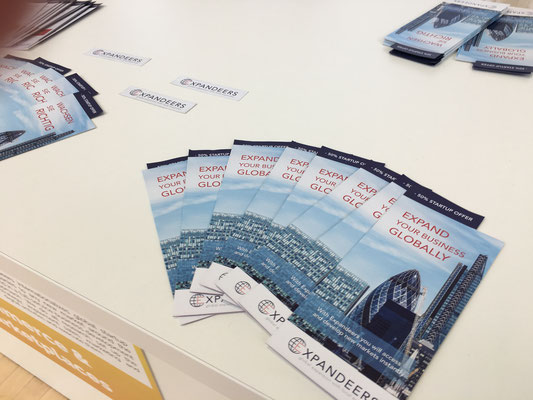 Expandeers Flyers and marketing material