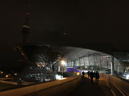 BMW World from the outside