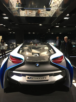 Prototype i8 from the backside