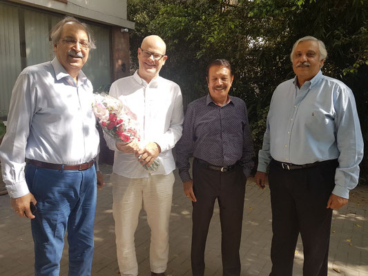 Management Team of Expandeers Pakistan, together with Expandeers CEO Michael