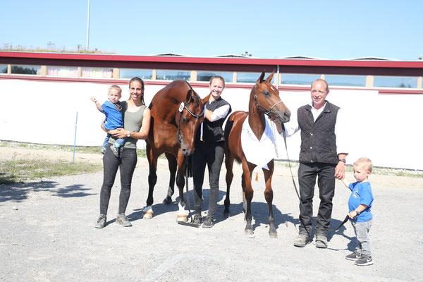 Corrida als Siegerin an der Fohlenschau in Sempach 2020 - Foto: Karin Rohrer