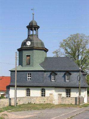 Kirche Rödigen, Ansicht von Süden