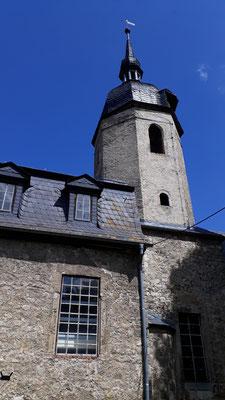Blick auf die Kirche von Osten