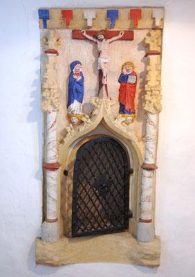 Kirche Hainichen, Sakramentenschrein