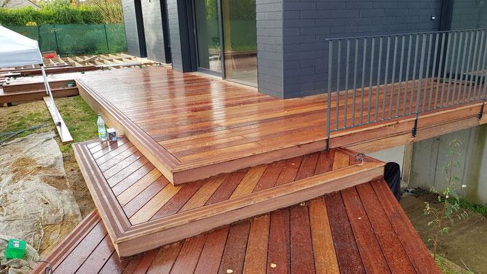 terrasse bois composite site de germain brault menuisier agencement. Black Bedroom Furniture Sets. Home Design Ideas