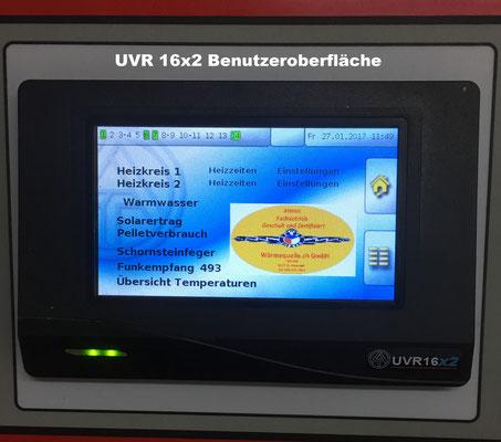 Heizungssteuerung UVR 16x2