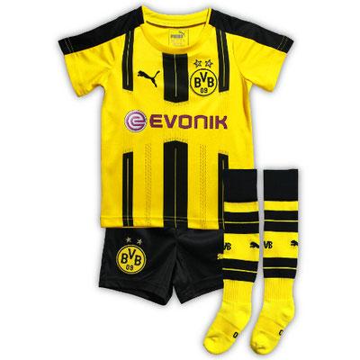 ドルトムントのベビー・幼児サイズのサッカーユニフォーム