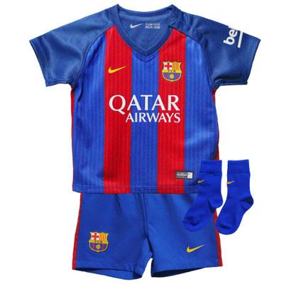 バルセロナのベビー・幼児サイズのサッカーユニフォーム