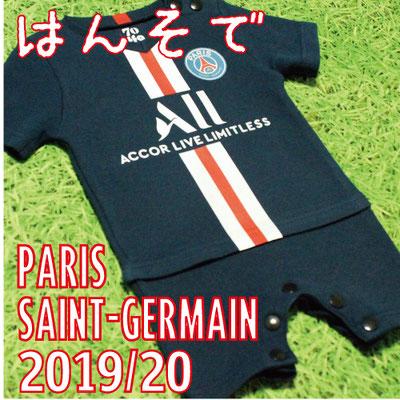 パリ・サンジェルマンのベビー服、ショートオール・ロンパース2019/2020