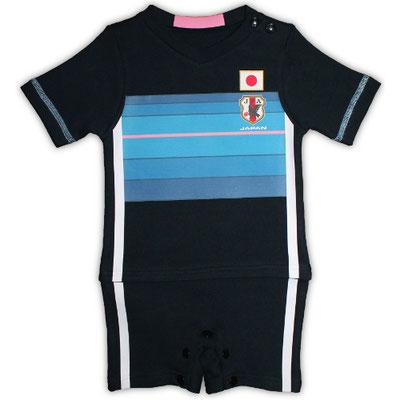 なでしこジャパンのベビー服、ロンパース