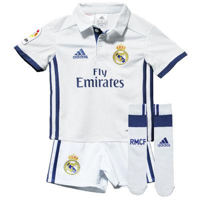 レアル・マドリードのベビー・幼児サイズのサッカーユニフォーム