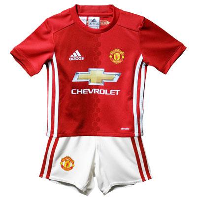 マンチェスター・ユナイテッドのベビー・幼児サイズのサッカーユニフォーム