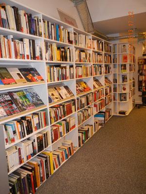 Buchhandlungseinrichtung / Büchergestell