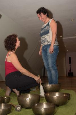 Manuela Wende Klang auf dem Energy Dance® Festival in Bayern
