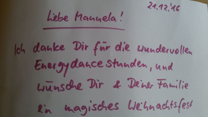 Zufrieden Kunden beim Energy Dance® in Hohenstein-Ernstthal