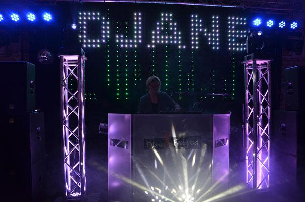 LED Lichtervorhang DJane Feelgood