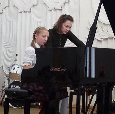 Master-class at Glinka School in Smolensk