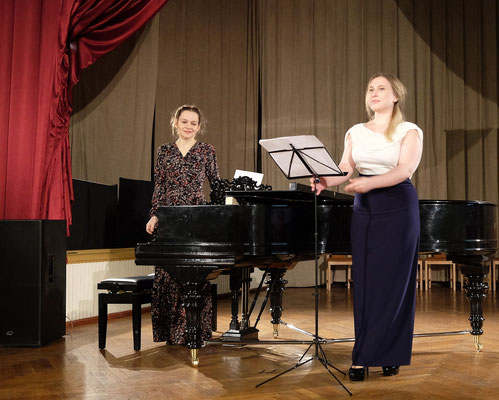 After the performance with Elizaveta Pakhomova (soprano)