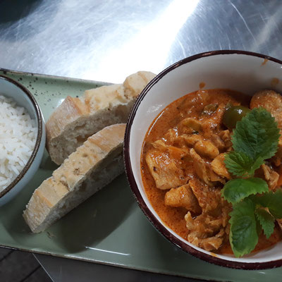 Rotes Thai-Curry