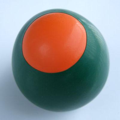 Jonglierball mit Reis gefüllt aus Ballons