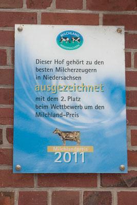 Silberne Olga, Milchlandpreis