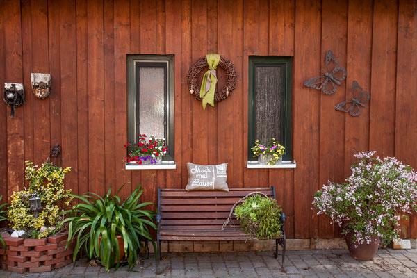 Mitarbeiterwohnung / Garten