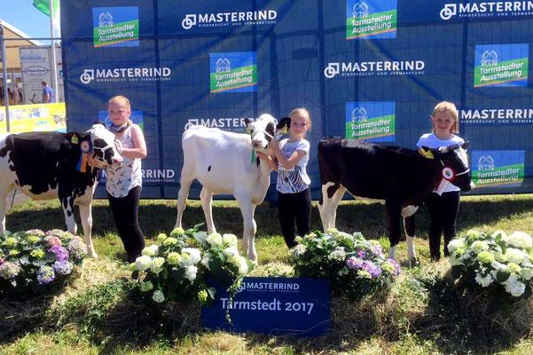 Auszeichnungen bei der Masterrind Rinderzucht Ausstellung in Verden