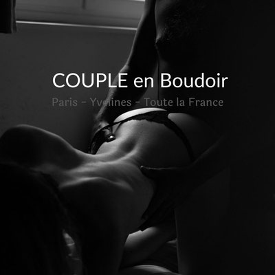 photo de couple en boudoir