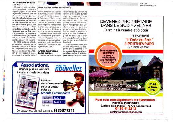 """Article dans la presse """"toutes les nouvelles"""" du mercredi 5 juillet 2017"""
