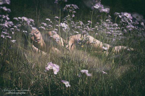 Séance photo de nu en lumière naturelle dans les Yvelines