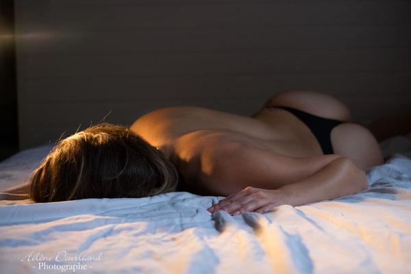 "Photos style boudoir ""un soir d'hiver"""""