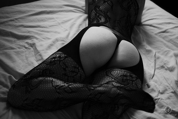 Femme photographe boudoir