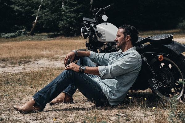 séance photo biker
