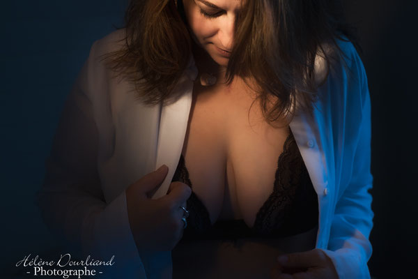 "Photos style boudoir ""un soir d'hiver"""