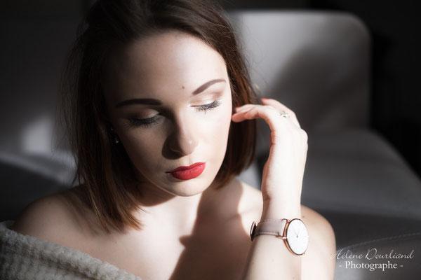 Portrait de femme intime