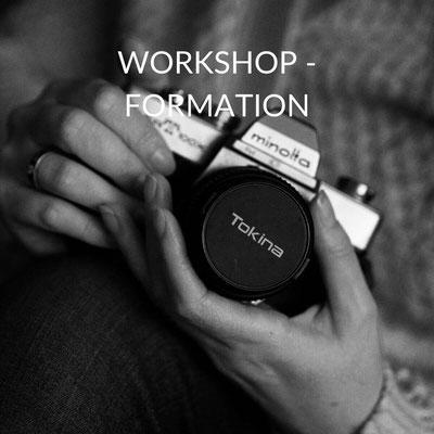 workshop, formation pour apprendre la photographie