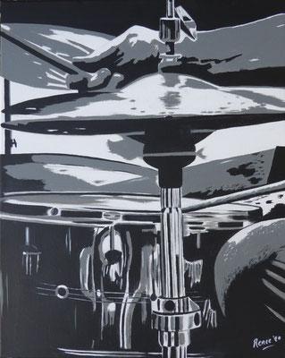 drumstel, 2021  40x50